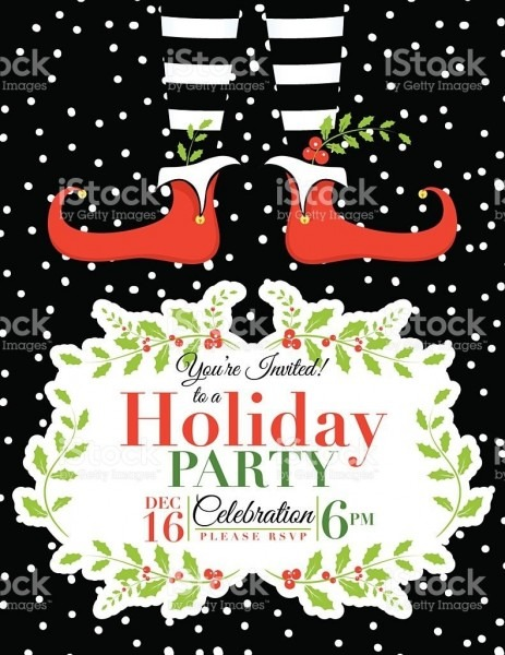 023 Free Holiday Invite Templates Party Invitation Word Chamunesco