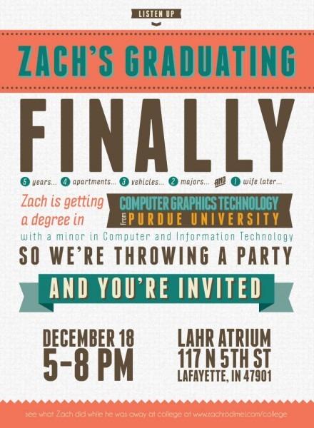 027 Template Ideas Graduation Invitation Templates Free Printable