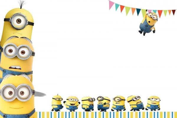 Minion Birthday Party Invitations Free Ideas