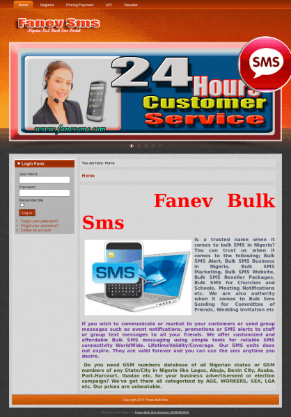 Fanev Bulk Sms Competitors, Revenue And Employees