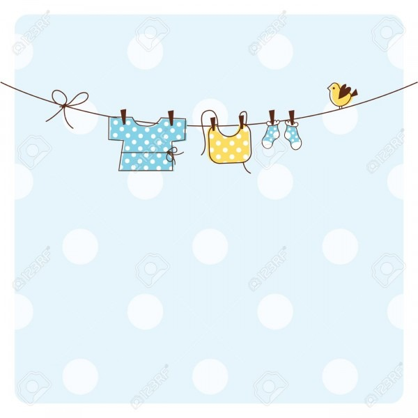 Baby Shower Invitation Card Royalty Free Cliparts, Vectors, And