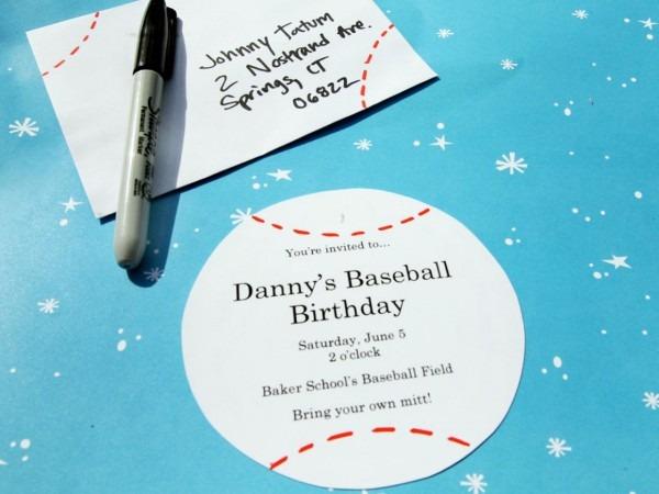 Baseball Bonanza Birthday Party