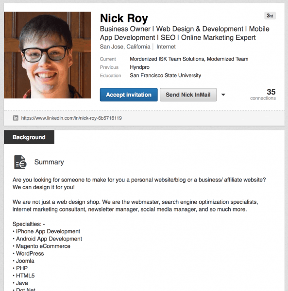 Help! Linkedin's Spam Problems – Aaron Bailey – Medium