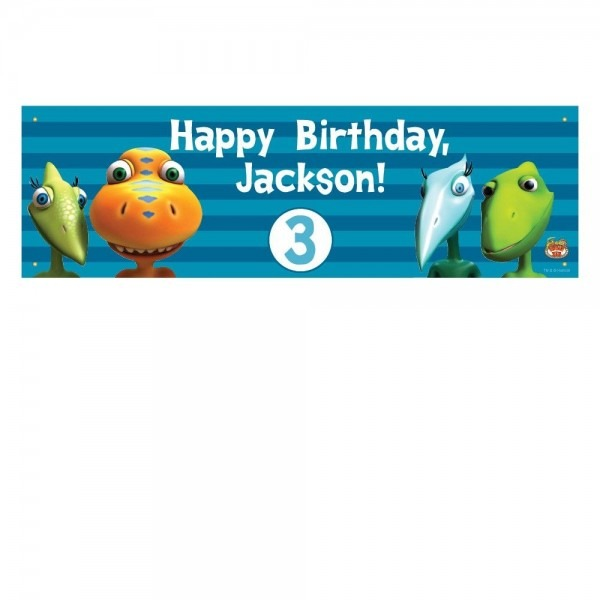 Dinosaur Train Happy Birthday Banner From Pbs Kids Shop