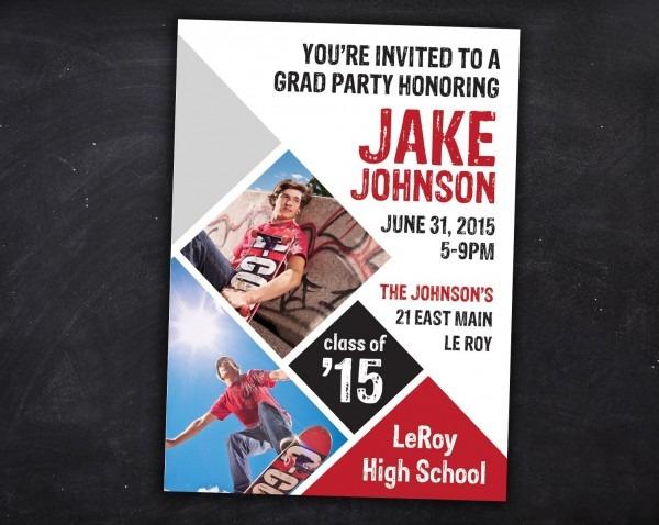 Grad Party Invites, Graduation Invitation, Graduation Invites