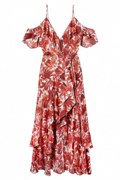 Bardot Floral Cold Shoulder Dress, £129, House Of Fraser