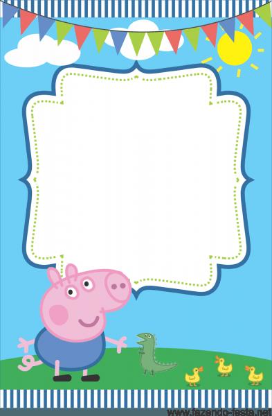 George Pig Invite