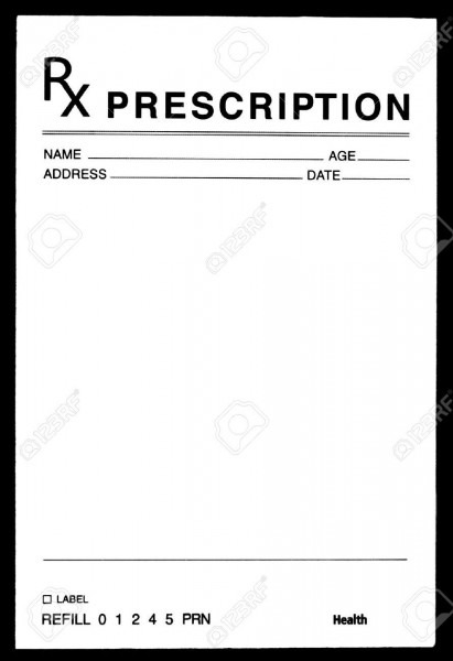 Image Result For Prescription Pad