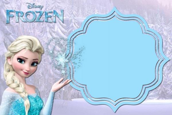 Free Printable Frozen Anna And Elsa Invitation