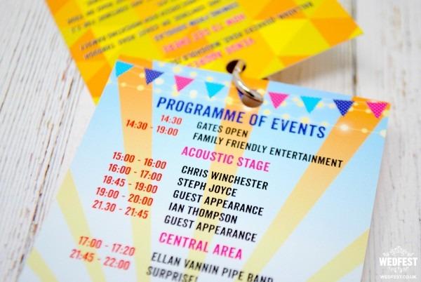 Fortyfest 40th Birthday Party Festival Invitations