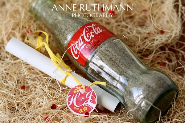 Ask Anne  Message In A Bottle Wedding Invitation