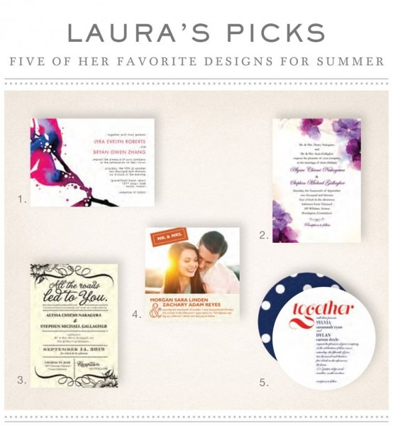 Tiny Prints Wedding Paper Divas' Own Laur Ching's Top 5 Wedding