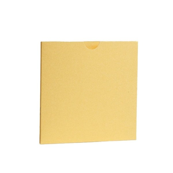 Yellow Pearlescent Pocket Fold Wallets With Envelopes  Diy Wedding