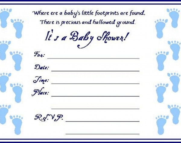 Boy Baby Shower Wallpaper