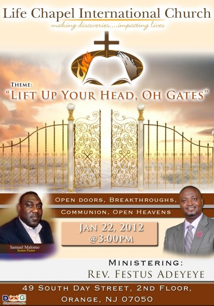 Life Chapel Invitation Flyer