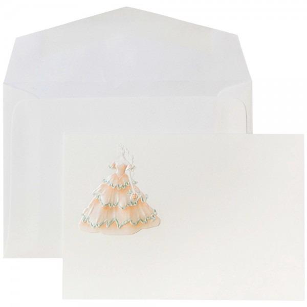 Jam Paper Wedding Invitation Set, Small, 4 7 8 X 3 3 8, Princess