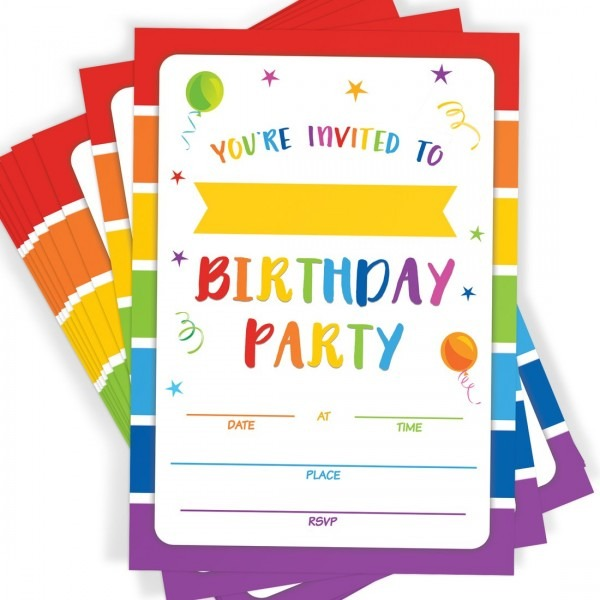 Amazon Com  Birthday Party Invitations