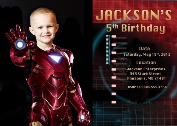 Iron+man+birthday+party+invitation+digital+by+funpartyprints,+$