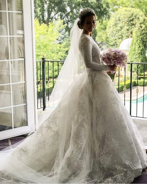 """Monique Lhuillier Bride On Instagram  """"gorgeous"""