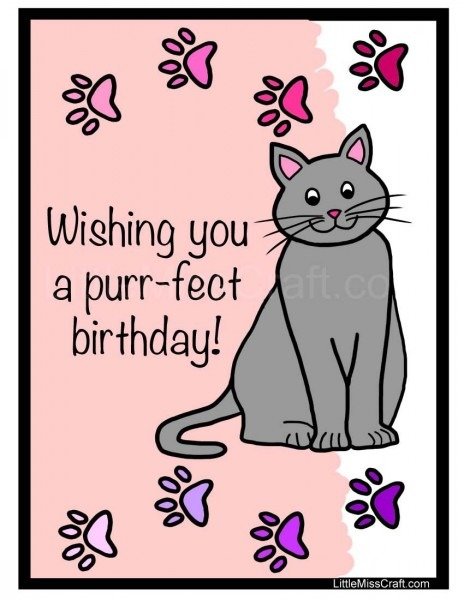 Free Printable Coloring Page, Birthday Coloring Page, Birthday
