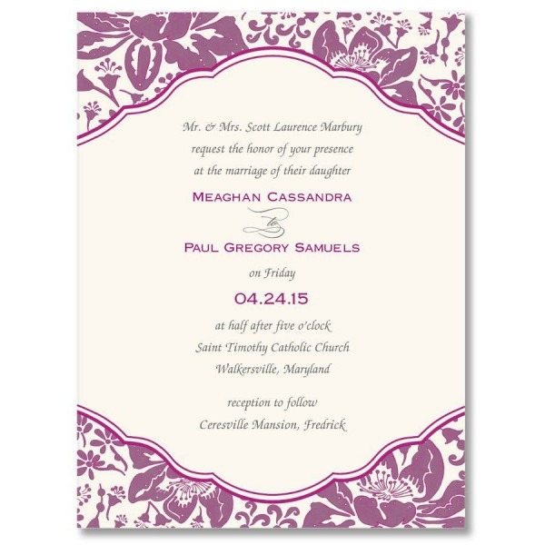 Microsoft Word Engagement Party Invitation Template