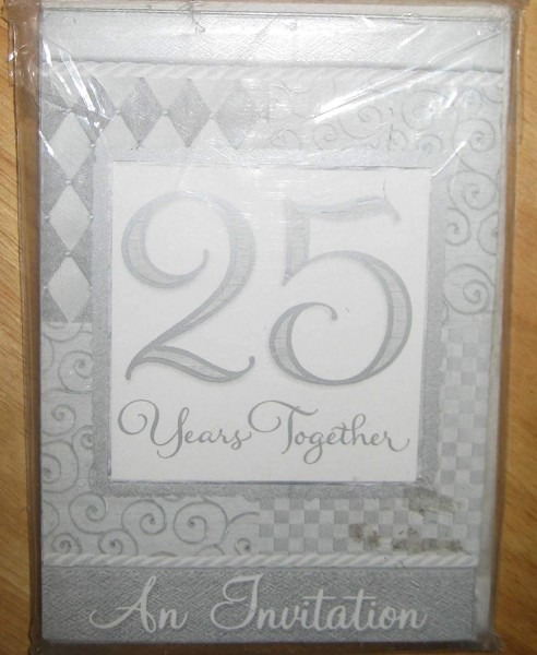 Amazon Com  25th Wedding Anniversary 'platinum Wedding