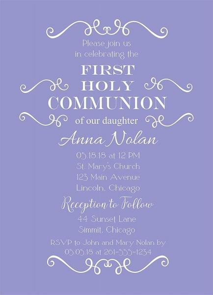Amazon Com  Set Of 25 Girls Purple Baptism, Christening, Communion