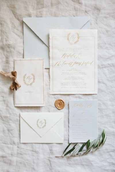 Handmade Paper Invitations    Calligraphy And Design By  Written