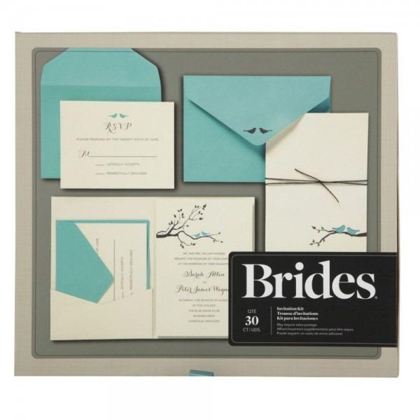Brides® Love Birds Pocket Invitation Kit