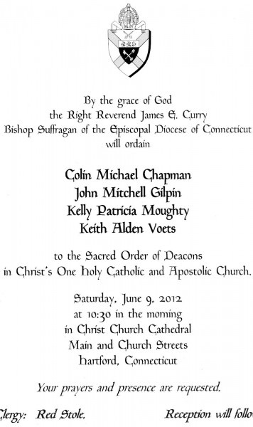 Gallery Of 8 Best Images Of Deacon Ordination Invitation Wording