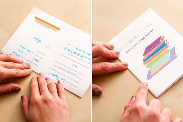 Make Fun Book Club Invitations Using This Free Printable Template
