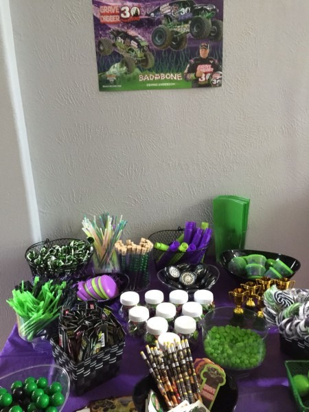Noah's Grave Digger Birthday Party