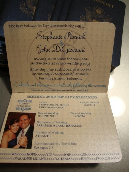 1st Page Of Passport Invite