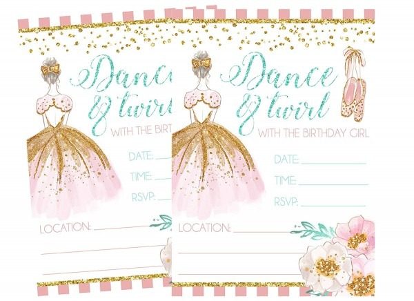 Amazon Com  Ballet Themed Dance And Twirl With Me Party
