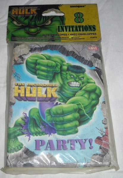 Amazon Com  Incredible Hulk Invitations  Toys & Games