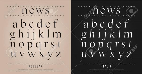 Classic Alphabet Letters Set  Exclusive Custom Letters  Alphabet