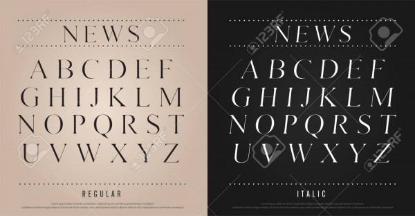 Classic Alphabet Uppercase Letters Set  Exclusive Custom Letters