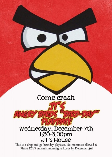 Angry Birds Invitation Template For Free – Invitetown