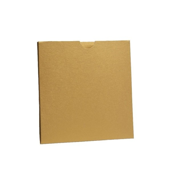 Gold Pearlescent Pocket Fold Wallets With Envelopes  Diy Wedding
