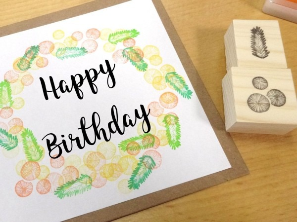 Mimosa Rubber Stamps, Flower Invitations, Yellow Flower, Diy