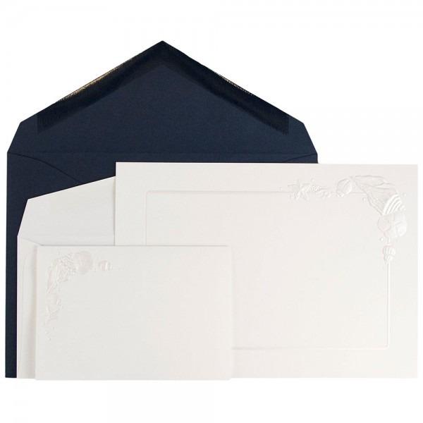 Jam Paper Wedding Invitation Combo Set, 1 Small & 1 Large Set