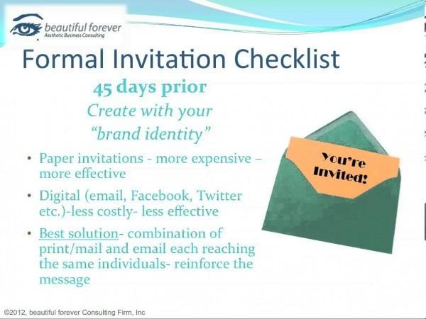 Sample Business Event Invitation Letter  12063430585 – Business