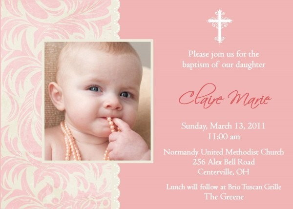 Afcafaedf Large Templates Of Baby Girl Baptism Invitation