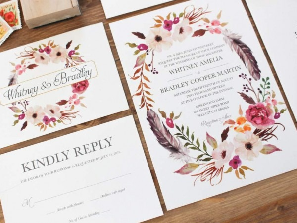 Amazing Design Your Own Wedding Invitations Print Your Own Wedding