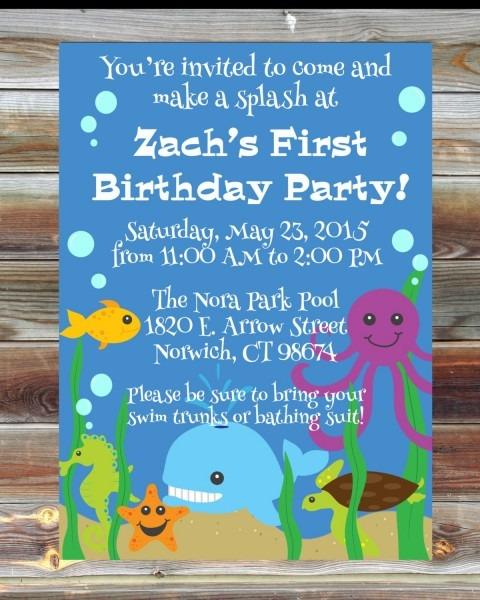 Animal Birthday Party Invitations — Birthday Invitation Examples