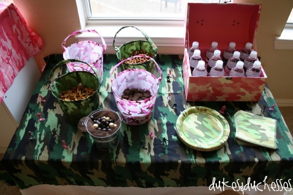Army   Military Boot Camp Themed Boot Camp Party Idea For Kids