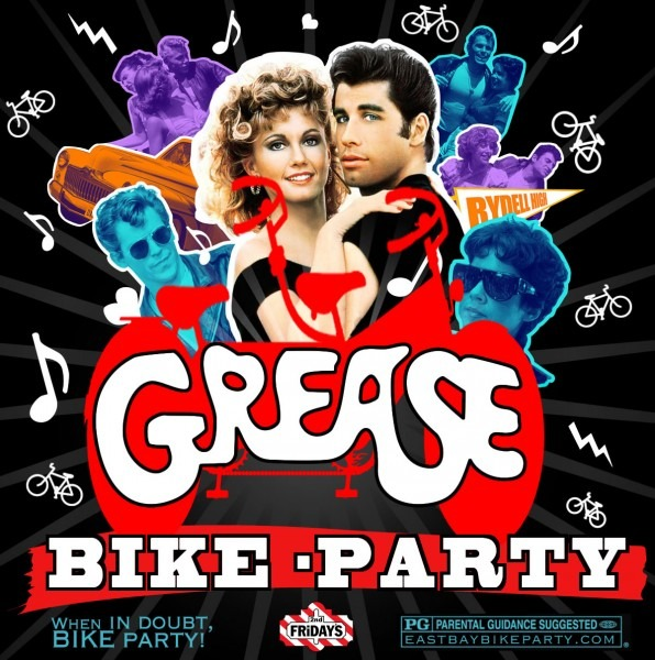 East Bay Bike Party  Grease Theme 4 12 13