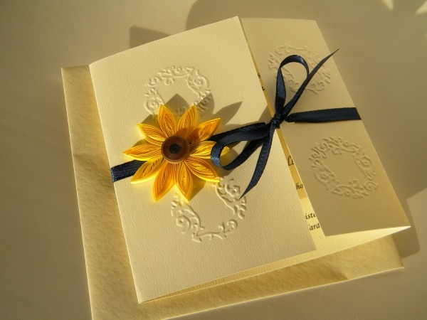 Attractive Sunflower Wedding Invitations Sunflower Wedding