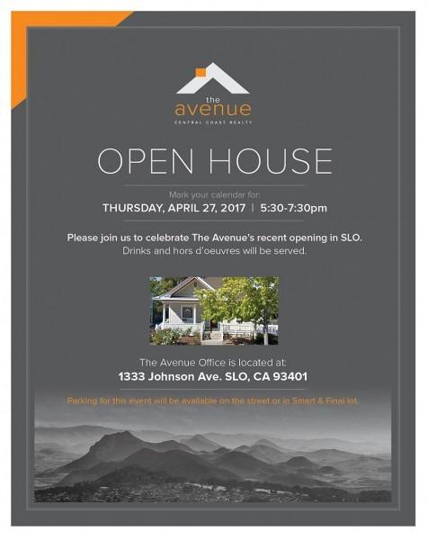Avenue Open House Celebration