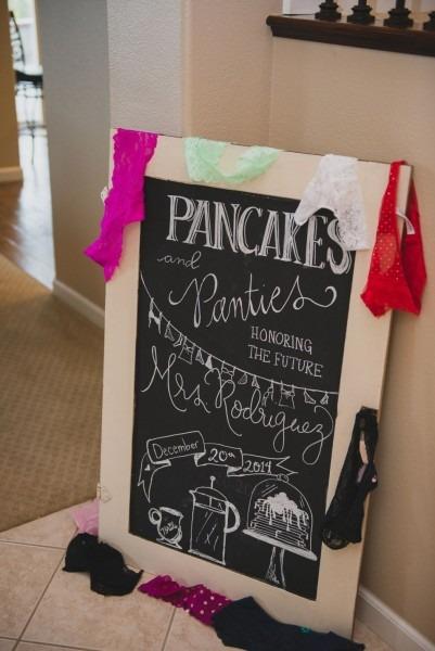 Gilroy Bridal Shower Photography – Pancakes And Panties! » Gilroy